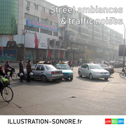 Ambiances de rue et bruits de circulation