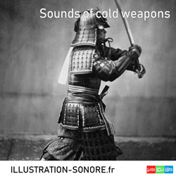 Sounds of cold weapons
