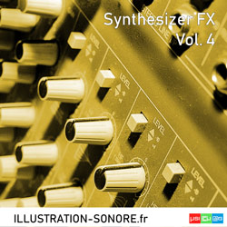 Synthesizer FX Vol. 4 Catégorie Sound effects